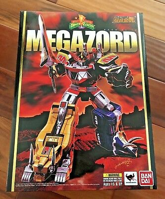 Soul of Chogokin GX-72 MEGAZORD Mighty Morphin Power Rangers Bandai NEW In US