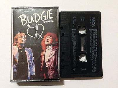 BUDGIE THE MUSICAL Audio Cassette Album 1988 **Free UK Postage**