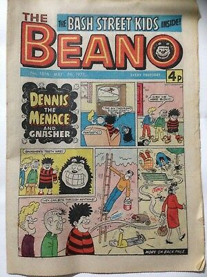 DC Thompson THE BEANO Comic. Issue 1816 May 7th 1977 **FREE UK POSTAGE**