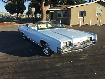 1969 Mercury Grand Marquis  1969 Mercury Grand Marquis Convertible (Ford, One Owner)