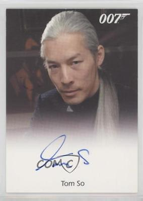 2013 Rittenhouse James Bond: Artifacts & Relics #TOSO Tom So as Fukuta Auto 7qw