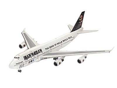 Iron Maiden Ed Force One Boeing 747-400 Plastic Model Kit