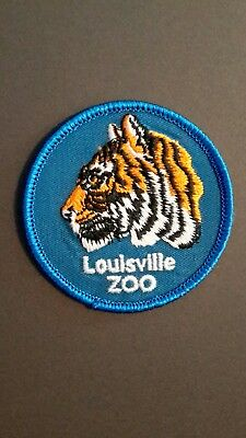 Vintage New Louisville Zoo Embroidered  Patch - Nice