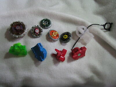 A Lot of Beyblade Metal Fusion + Launchers + Ripcord