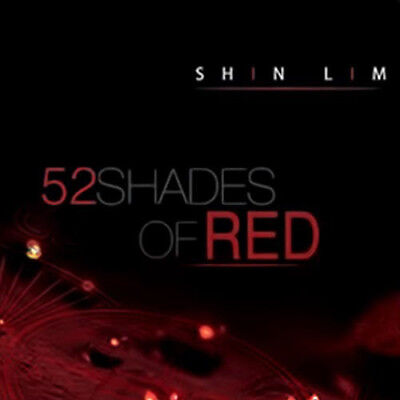 Magic Trick52 Shades of Red by Shin Lim