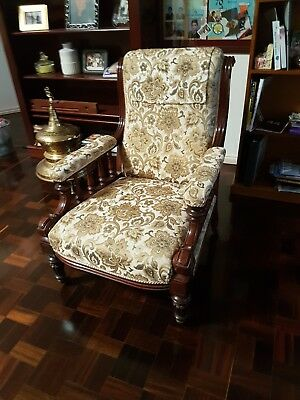 Antique Grandfather Chair