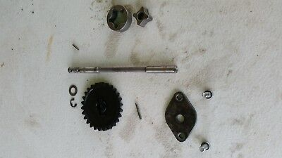 2004 Ktm 450exc Oil Pump And Drive Gear