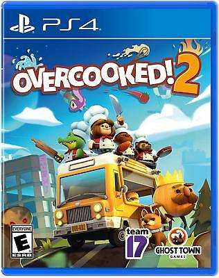 Overcooked 2 (Sony Playstation 4, 2018) PS4 Overcooked! Brand NEW Sealed