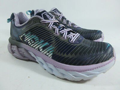 new products a8427 5af07 Hoka One One Arahi Running Shoes Medieval Blue Lavender Women s Size 7.5 M