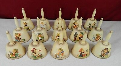 15 Hummel Goebel Annual Bells Complete Collection 1978–1992 With Original Boxes