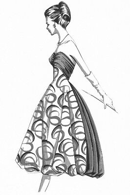 1960s DRESS DESIGN and Selection Book ~ Fashion Techniques Styles Pattern Fabric