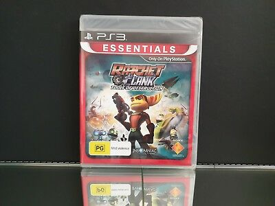 Ratchet & Clank Tools of Destruction *NEW & Sealed - PS3 - PlayStation 3 Game