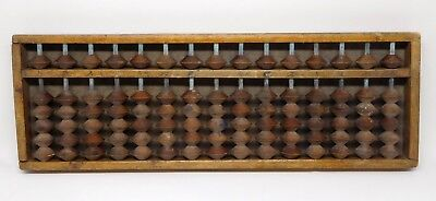 Antique Chinese Wooden Abacus  #648