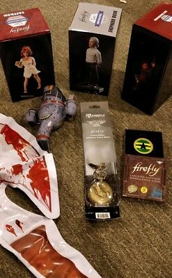 Firefly/Serenity Loot Crate Exclusive Collectible Lot!