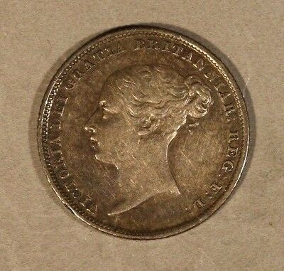 1838 Great Britain 6 Pence Nice Details        ** FREE U.S. SHIPPING **