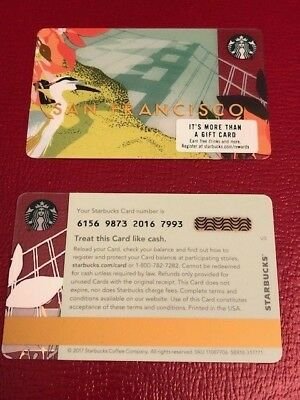 NEW MINT Starbucks Card 2018 San Francisco Golden Gate Shadow Limited Edition