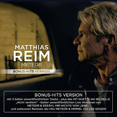 Matthias Reim - Meteor-Bonus-Hits Version - (CD)