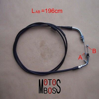 196cm Throttle Cable for GY6 125/150 Scooter Moped