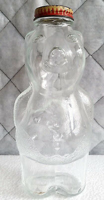 Vintage Snow Crest Figural Piggy Bank Bottle.