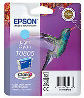 Epson Epson t0805 - 7.4 ml - cyan clair - originale - blister - cartou