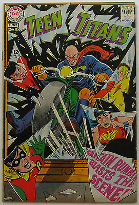 Teen Titans #15 (May-June 1968, DC), VFN-NM condition