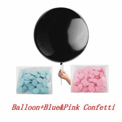 18'' Gender Reveal Baby Shower Confetti Balloon Pink Blue Confetti Party Decor