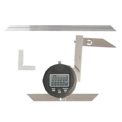 "Lightweight High Precision Digital Protractors 360°, 30""/ 0.008 Resolution"