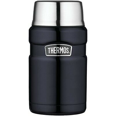 Thermos Stainless King 24 Ounce Food Jar Midnight Blue Compact And Insulated
