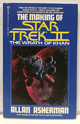 1982 Making of Star Trek II: Wraph of Khan Reference Book- 222 Pages (E1127)
