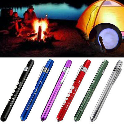 Emergency Medical First Aid LED Pen Light Flashlight Torch Doctor Nurse EMT1X D