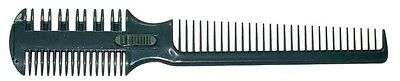 Salon Hair Razor Comb 1+2 Blades Compare With Paul Mitchell Carving Comb!!
