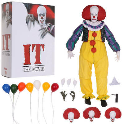 """7"""" NECA Stephen King's IT Pennywise Clown 1990 Ultimate Action Figure 1:12 NEW"""