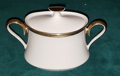 Lenox FINE  China Eternal Pattern Sugar Bowl with Lid Dimension Collection Mint