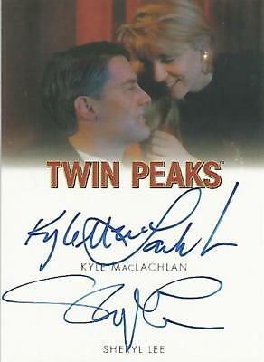 "Twin Peaks - Kyle MacLachlan & Sheryl Lee ""Dale & Laura"" Dual Autograph Card"