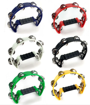 ProKussion Half Moon Cutaway Tambourine - Various Colour Selection