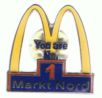 Mc Donalds - Markt Nord - You are No. 1 - Pin aus Metall