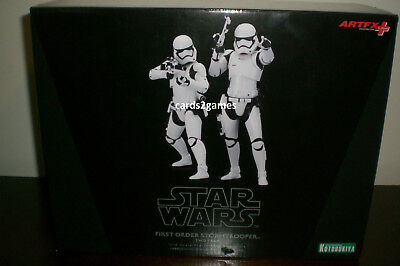 NEW Star Wars FIRST ORDER STORMTROOPER 2 Pack Kotobukiya ArtFX 1/10 Statue