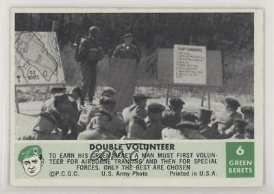 1966 Philadelphia Men of the Green Berets 6 Double Volunteer Non-Sports Card 0s4