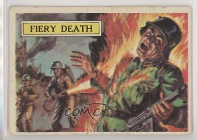 1965 Topps Battle: The Story of World War II #42 Fiery Death Non-Sports Card 0s4