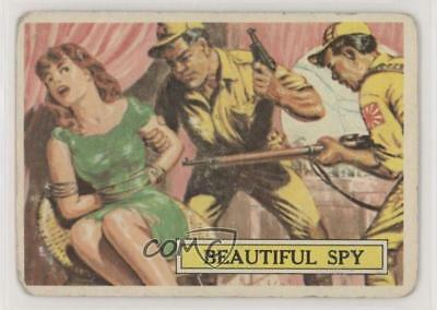 1965 Topps Battle: The Story of World War II #53 Beautiful Spy Card 0s4