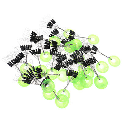 100pcs Silicone Space Bean Fishing Bait Accessories Fishing Tackle Carp CL