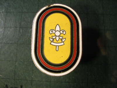 1960s Boy Scouts of Nippon (Japan) Woggle/Neckercief Slide.