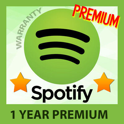 Spotify PREMIUM - YOUR OWN PRIVATE ACCOUNT - 1 YEAR + WARRANTY