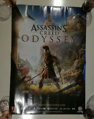 Assassins creed Odyssey promo poster  PS4