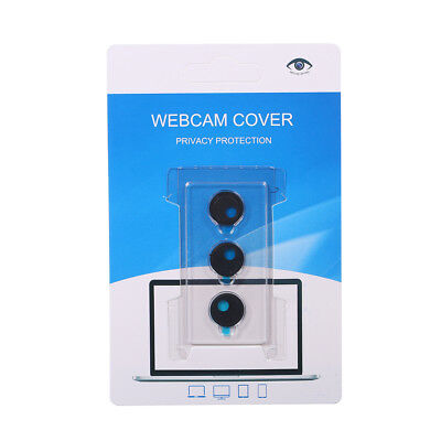 3PCS Ultra Thin Webcam Cover Laptop Camera Protection Plastic Slider U7P9