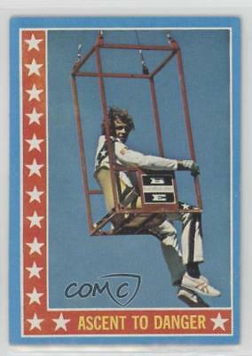 1974 Topps Evel Knievel #46 Ascent to Danger Non-Sports Card 0s4