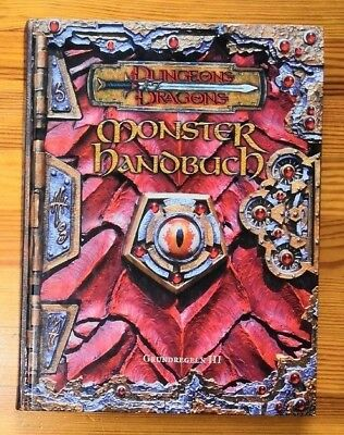 Monster Handbuch Dungeons & Dragons D&D 3rd Edition