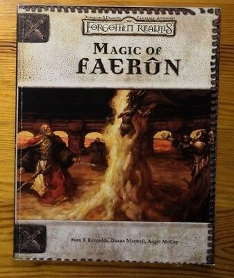 Magic of Faerûn Forgotten Realms Dungeons & Dragons D&D 3rd
