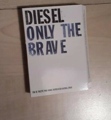NEU - DIESEL - ONLY THE BRAVE  - 1,2 ml  Eau de Toilette  Probe