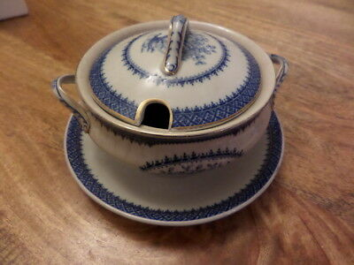 Coronaware -S Hancock & Sons Stoke On Trent - Vintage Small Tureen + Base